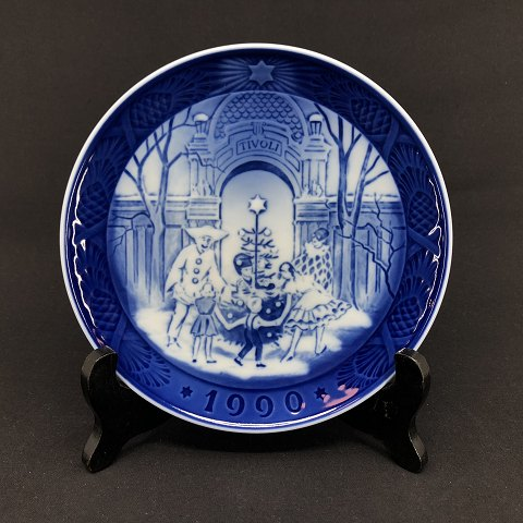 Royal Copenhagen christmas plate 1990