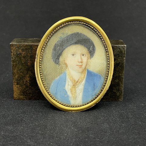Miniature portrait of a boy